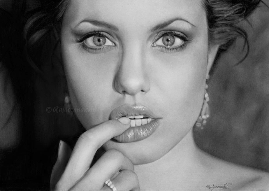 angelina jolie by Rajacenna