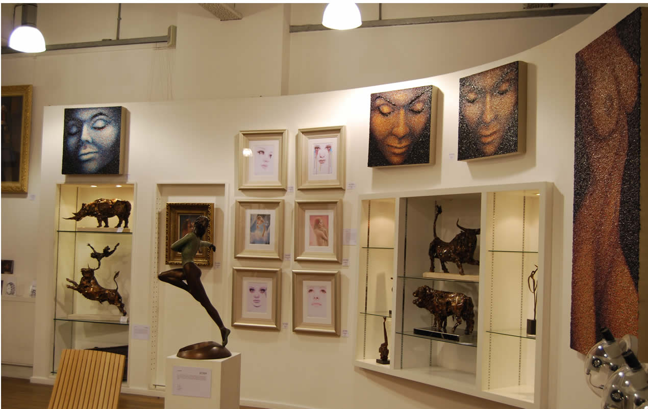 My work on Elite Exhibition Birmingham